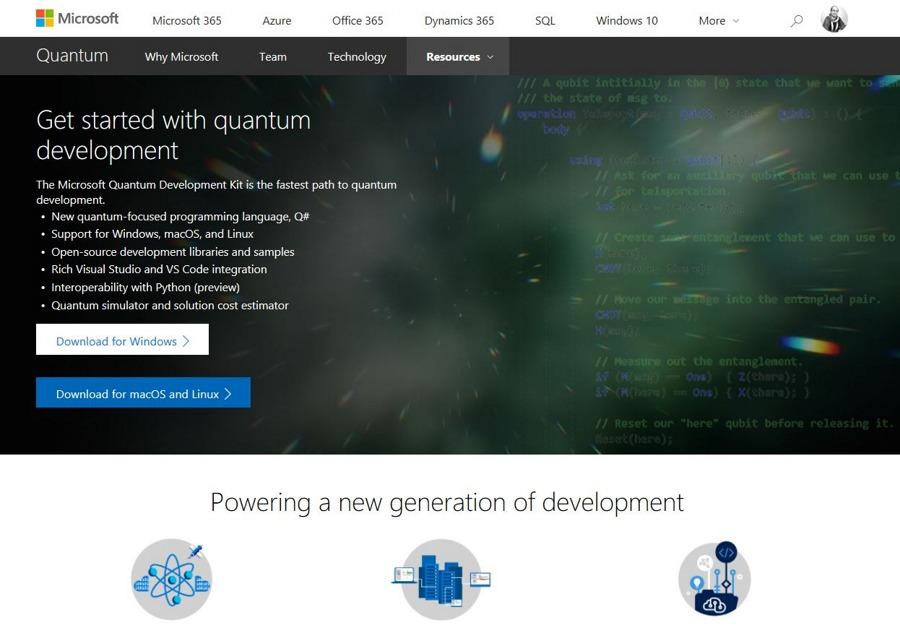 نسخه جدید Quantum Development Kit توسط مایکروسافت منتشر شد.