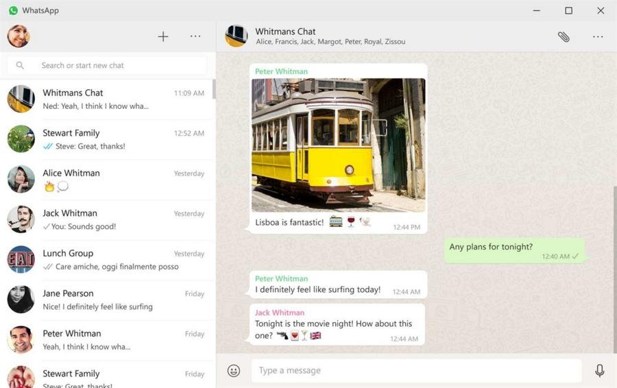 اپلیکیشن WhatsApp برای کاربران ویندوز ۱۰ بروی استور مایکروسافت منتشر شد.