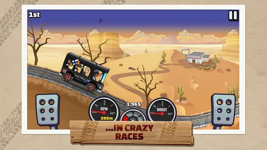 بازی Hill Climb Racing 2 با پشتیبانی از XBOX Live برای ویندوز ۱۰ کامپیوتر
