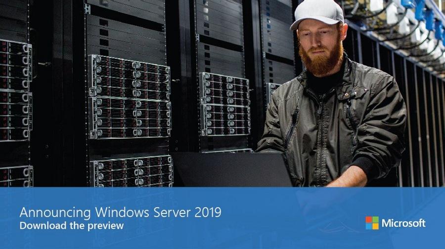 رونمایی مایکروسافت از Windows Server 2019 و انتشار آن در آغاز نیمه دوم سال ۲۰۱۸