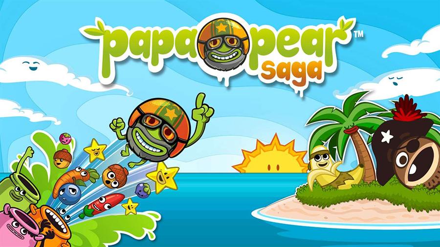 دانلود بازی Papa Pear Saga محصول کمپانی بزرگ king به صورت UWP برای ویندوز ۱۰