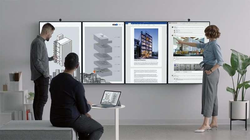Microsoft Surface Hub 2 دستگاهی مسحور کننده در هزاره سوم (ویدیو)