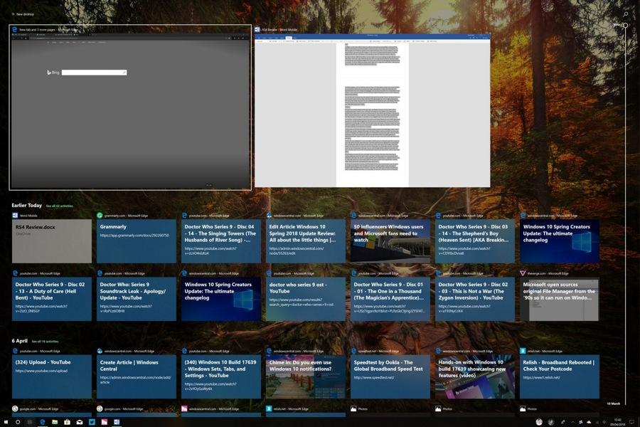 Windows 10 Timeline چیست و چه قابلیت هایی را در اختیار قرار می دهد!؟