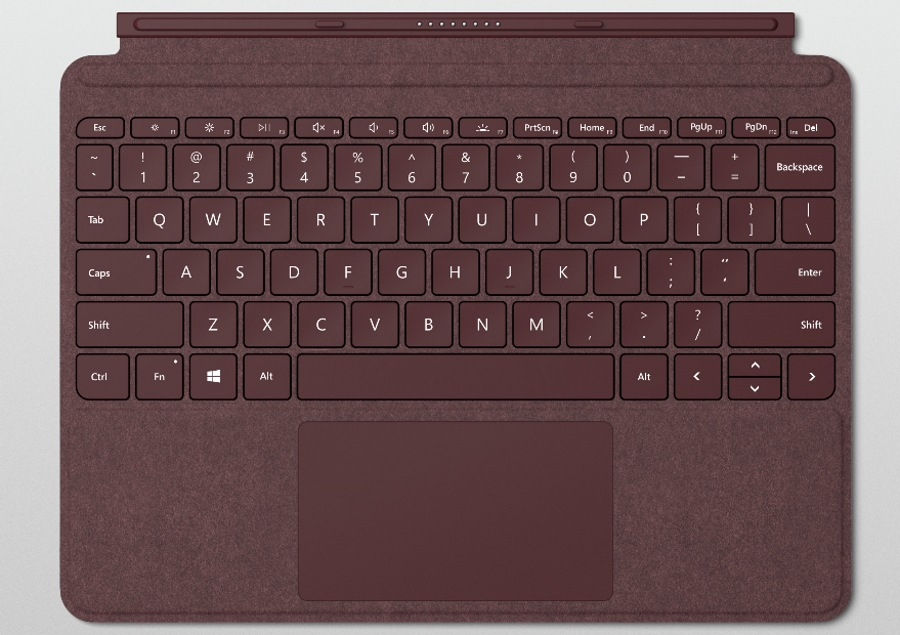کیبورد جدید Surface Go از نوع Signature Type Cover با ۱ میلیمتر Key-travel