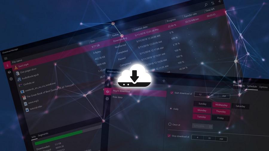 دانلود رایگان برنامه مدیریت دانلود iDownload Manager (iDM) برای ویندوز ۱۰