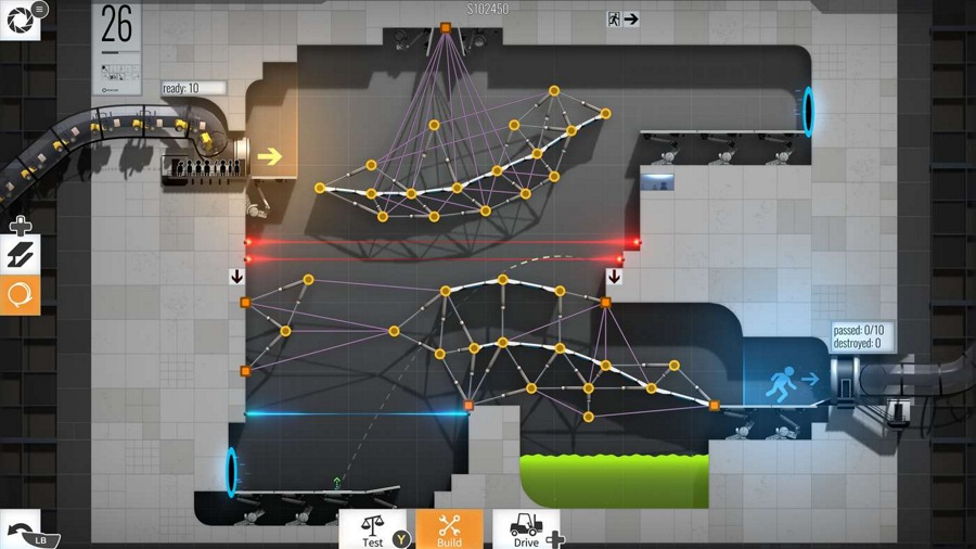 بازی بی نظیر Bridge Constructor Portal با قیمت ۱۰$ وارد استور مایکروسافت شد