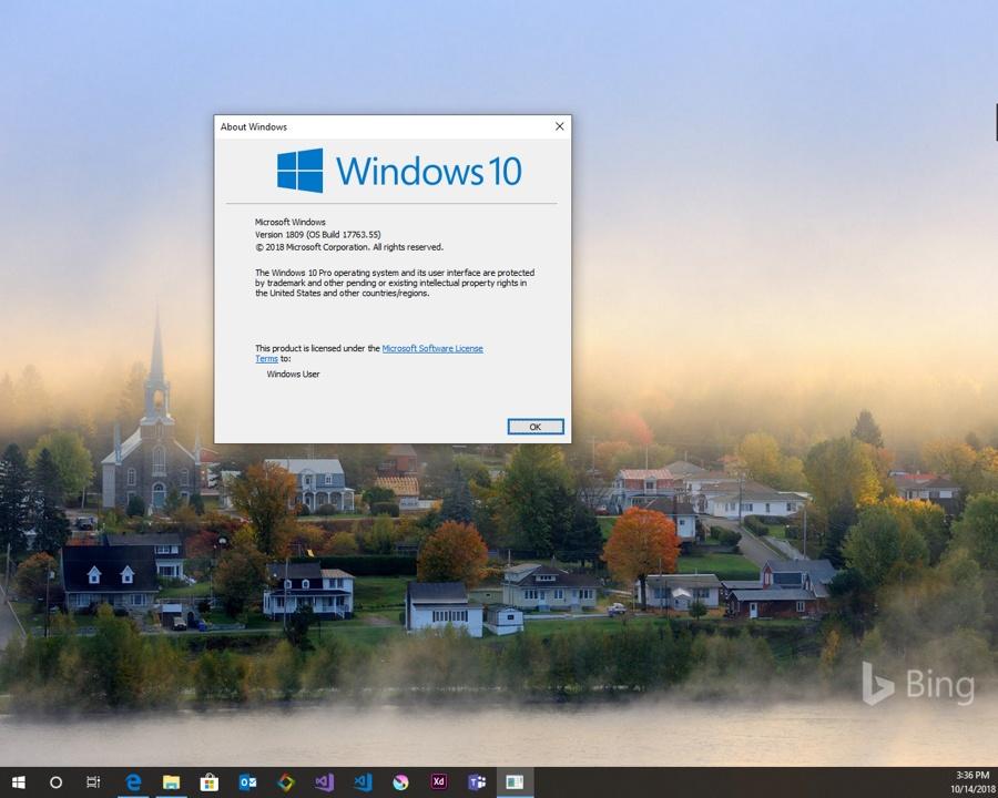 winver دستوری بسیار ساده و کاربردی برای اطلاع دقیق از نسخه ویندوز ۱۰
