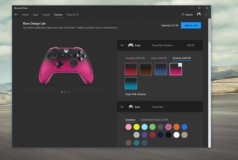 Xbox Design Lab برای طراحی دسته بازی دلخواه شما وارد استور مایکروسافت شد.
