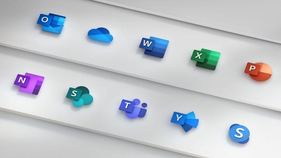 با آیکن های جدید Office 2019 با طراحی بسیار زیبا آشنا شوید.