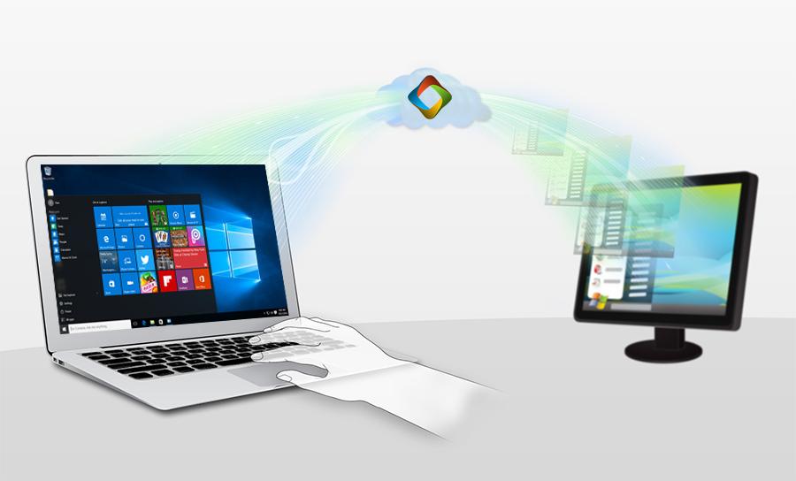راه اندازی سرویس خدمات آنلاین ویندوز سنتر از راه دور به کمک AnyDesk