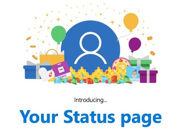 اضافه شدن صفحه ی وضعیت به Microsoft Rewards برای اطلاع بیشتر
