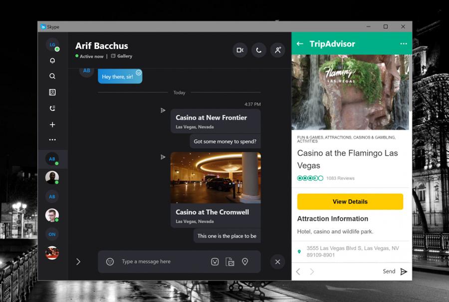 امکان ارسال فایل های بسیار بزرگ به کمک قابلیت جدید Skype و OneDrive