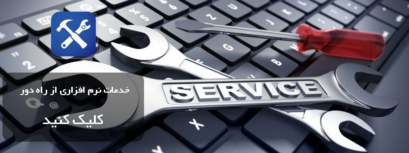 خدمات نرم افزاری از راه دور