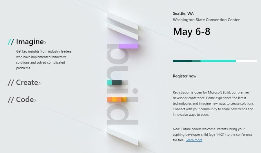 تنها ۲ روز مانده تا بزرگترین کنفرانس Developer های جهان در Build 2019