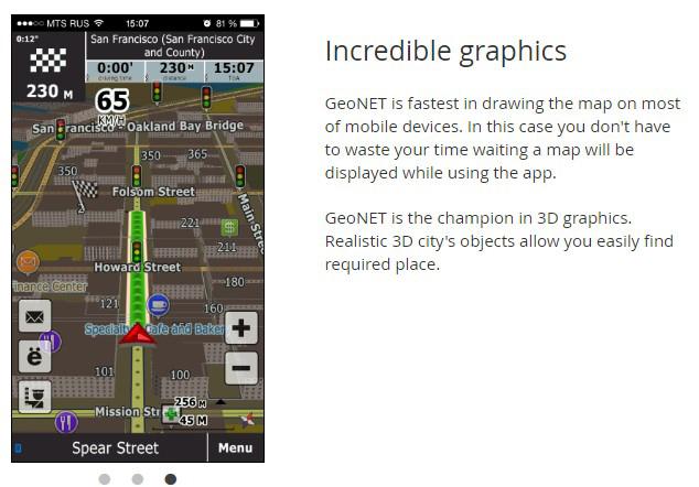 دانلود مسیر یاب و نقشه های جدید ایران در اپلیکیشن GeoNET مخصوص ویندوز ۱۰ موبایل
