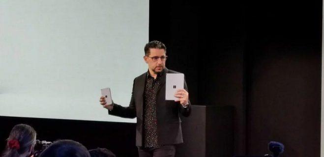 دو سورپرایز بزرگ مایکروسافت در رویداد سرفیس Surface Neo و Surface Due