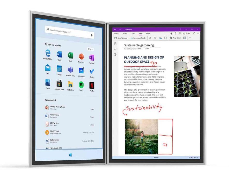 Windows 10X on surface neo