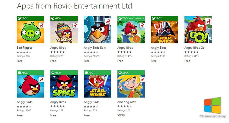 کلیه نسخه های Angry Birds برای مدت نامشخصی رایگان شده است!