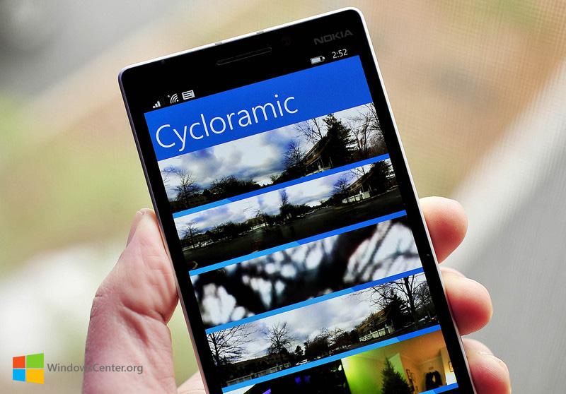 اپلیکیشن پرطرفدار عکاسی پانوراما Cycloramic برای ویندوزفون! [آپدیت]