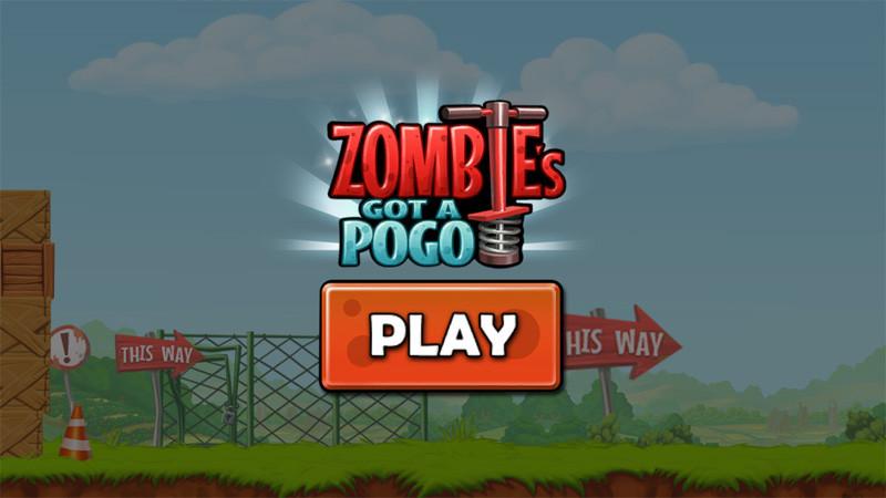 معرفی بازی رکوردی Zombie's Got a Pogo