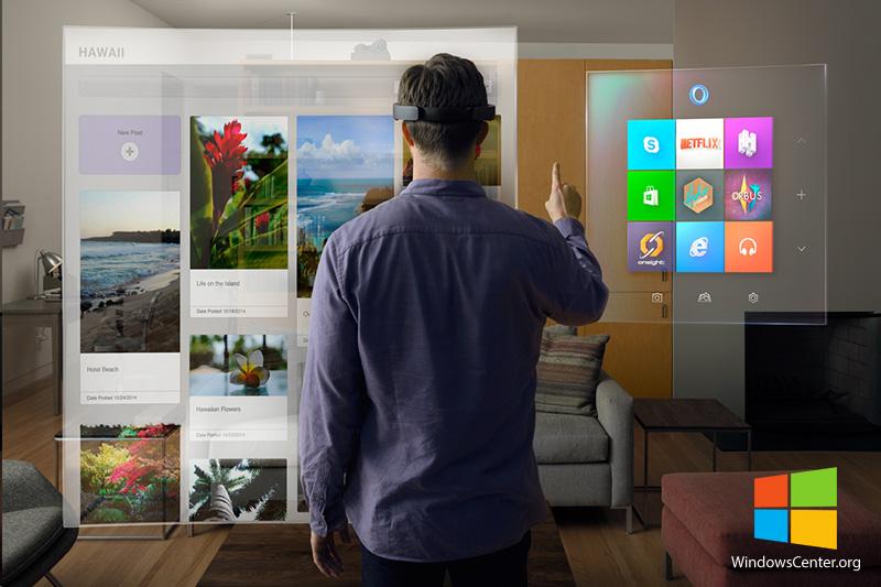 Windows 10 با HoloLens (هولولنز) شما را با آینده دنیای کامپیوتر آشنا می کند!
