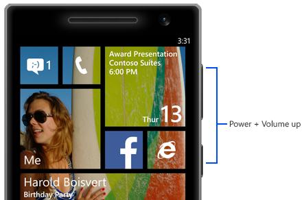 چگونه از صفحه ی نمایش ویندوزفون عکس (Screenshot) بگیریم!؟