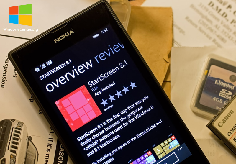 StartScreen 8.1 صفحه ی شروع زیبای ویندوز ۸٫۱ را برای ویندوزفون شما به ارمغان می آورد!