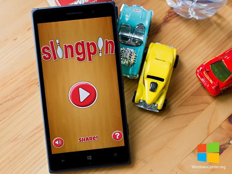 معرفی بازی Slingpin برای ویندوزفون