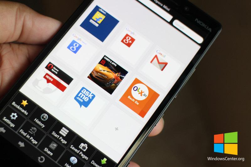 Opera Mini نسخه بتا برای ویندوزفون با آپدیت جدید در استور!