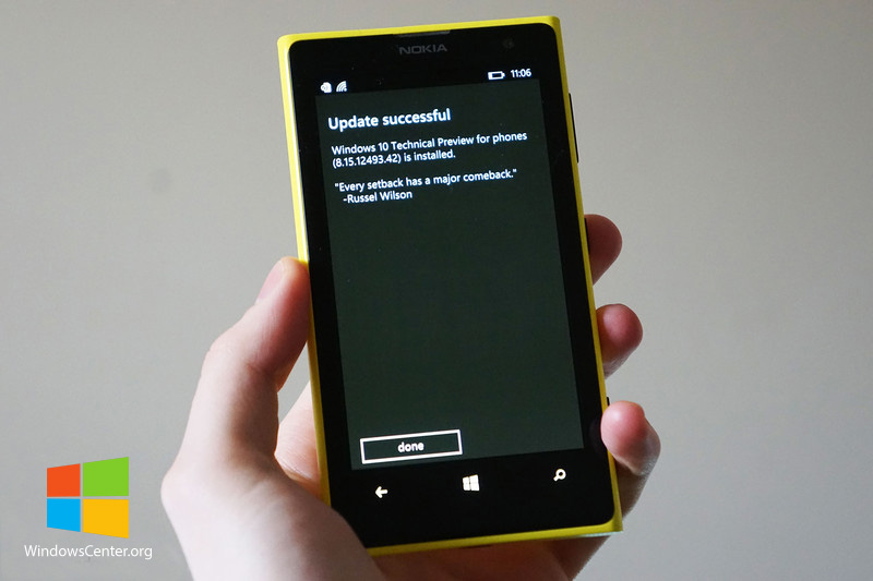 مایکروسافت وجود Phone recovery tool for Windows 10 preview  را تایید کرد!