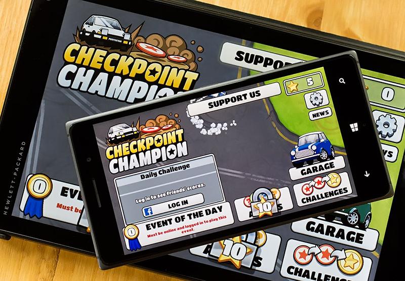 بازی جذاب و رایگان Checkpoint Champion برای ویندوزفون و ویندوز