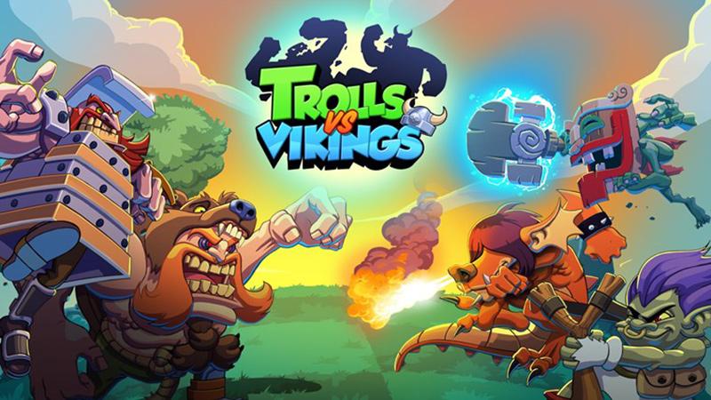 Trolls vs Vikings را از دست ندهید!