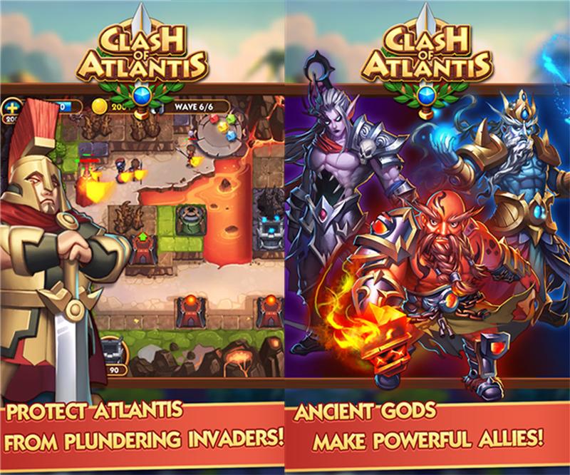 Clash of Atlantis یک بازی استراتژی لذت بخش!