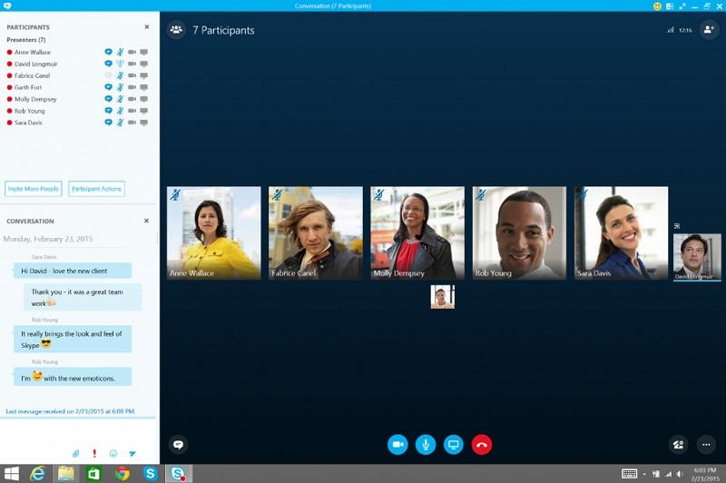Skype for Business در آپدیت جدید آفیس ۲۰۱۳ بجای Lync خواهد آمد.