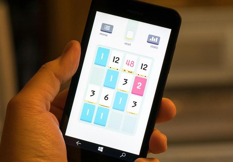 بازی معروف Threes به صورت رایگان برای ویندوزفون منتشر شد.