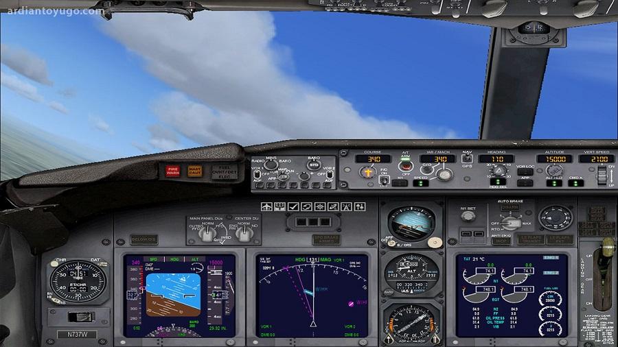 بازی معروف Flight Simulator به صورت آنلاین برای ویندوز ۱۰ با Microsoft Edge