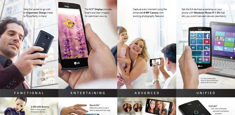 ویندوزفون LG به زودی وارد بازار گوشی های موبایل می شود.