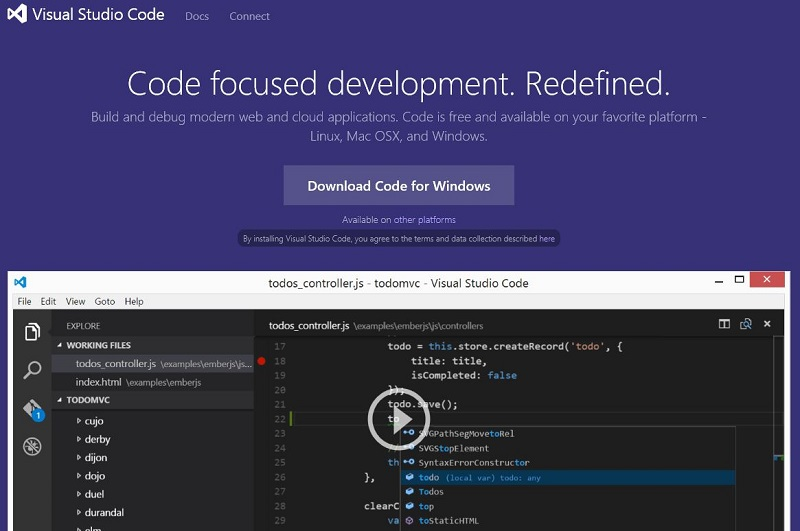 Visual Studio Code ابزاری قدرتمند و رایگان برای برنامه نویسی به همه زبان ها
