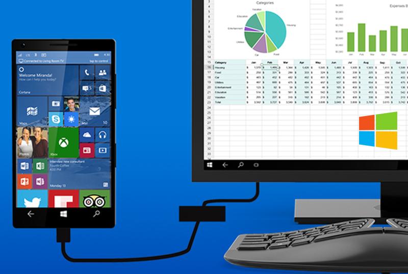 برای استفاده از قابلیت کانتینیوم ویندوز ۱۰ موبایل به سخت افزار جدید نیاز است.