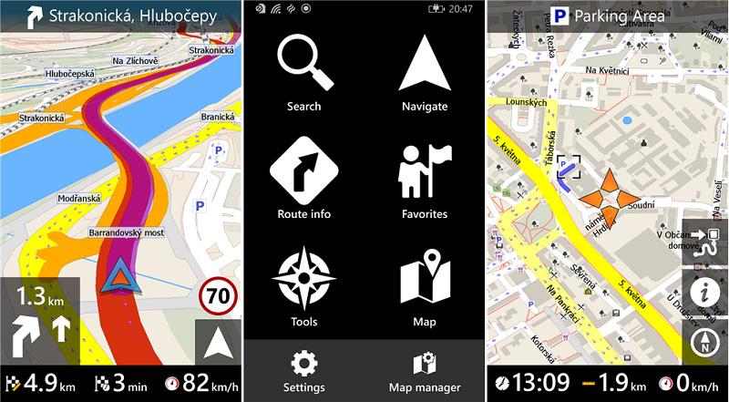 برنامه مسیر یاب سخنگوی فارسی با نقشه آفلاین MapFactor GPS Navigation