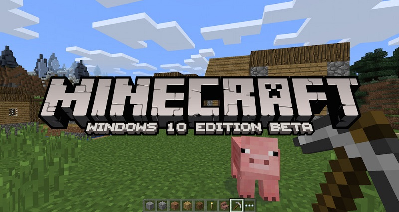 بازی فوق العاده Minecraft برای ویندوز ۱۰ منتشر شد!