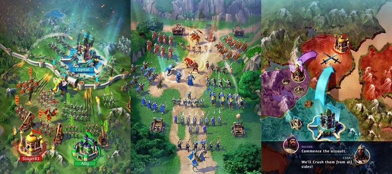 بازی جدید GameLoft به نام March of Empires برای ویندوز و ویندوزفون