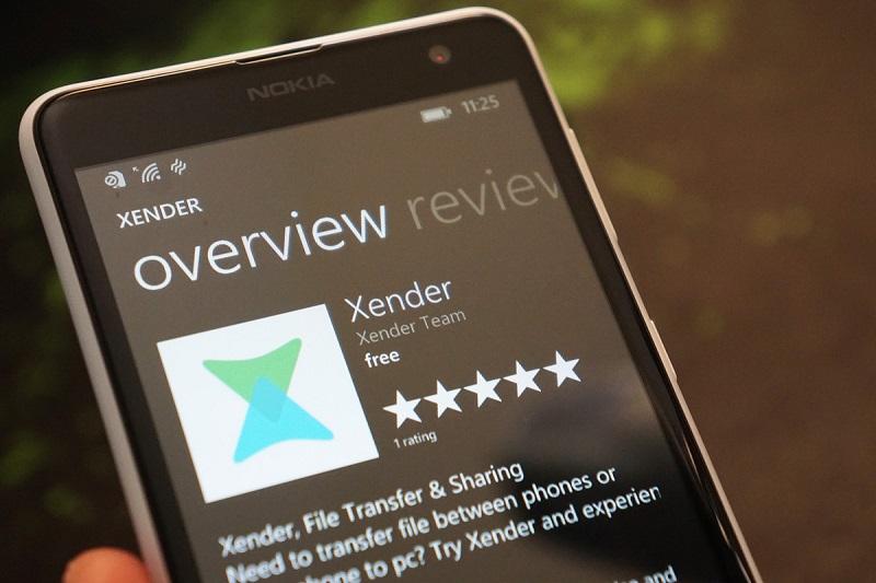 اپلیکیشن اشتراک گذاری فایل Xender برای ویندوزفون بروز شد.