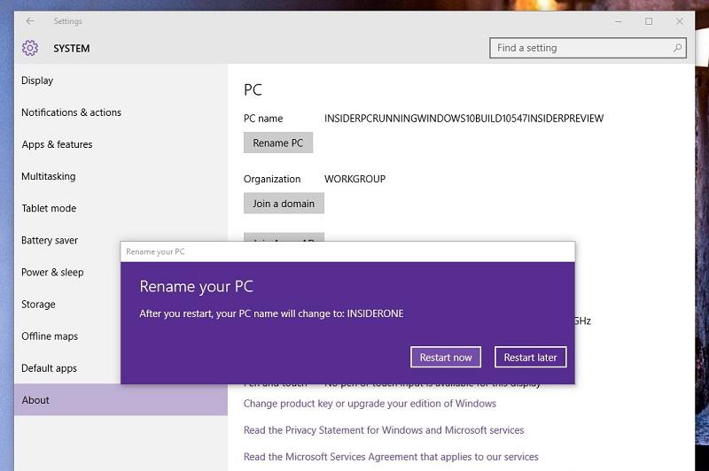 چطور در ویندوز ۱۰ نام کامپیوتر را تغییر دهیم؟!