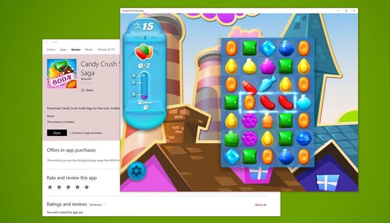 دانلود بازی کندی کراش سودا (Candy Crush Soda Saga) برای ویندوز ۱۰