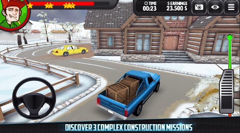 بازی گرافیکی Trucking 3D! Construction Delivery Simulator را از دست ندهید!