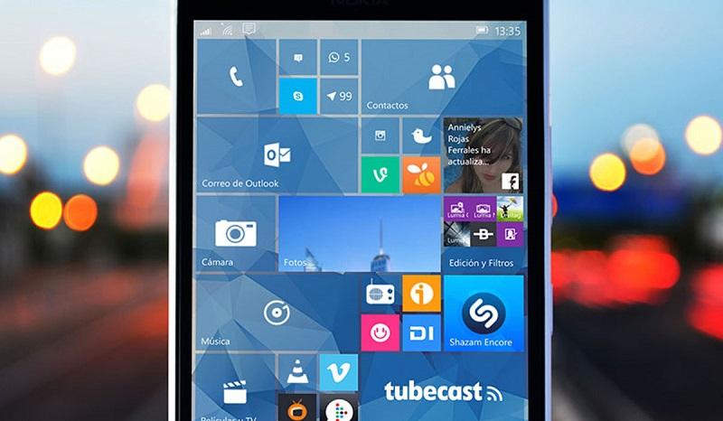 Windows 10 Mobile preview build 10572 برای Fast ring منتشر شد.