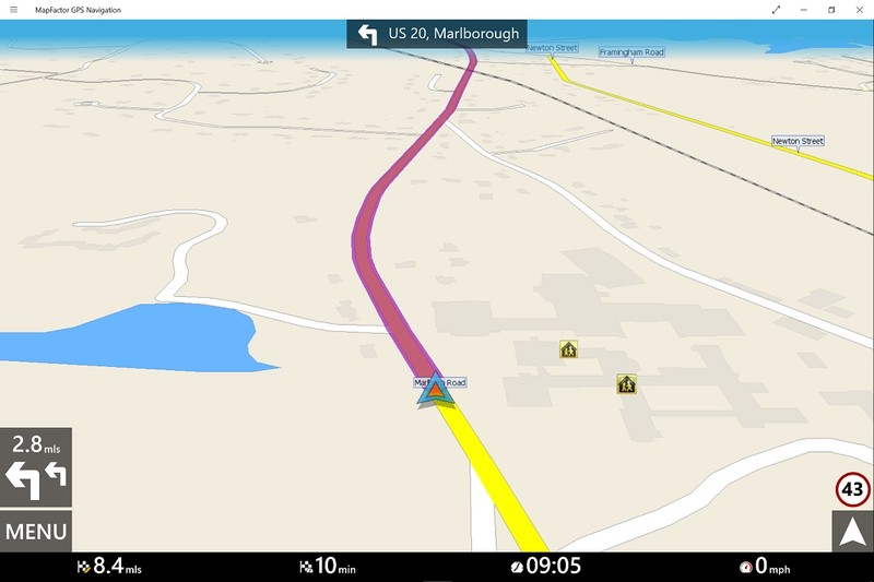 MapFactor GPS Navigation نیز مخصوص ویندوز ۱۰ منتشر شد!