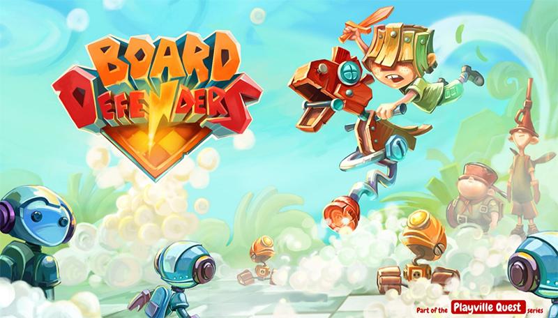 بازی فوق العاده جذاب و فکری Board Defenders برای ویندوز ۱۰