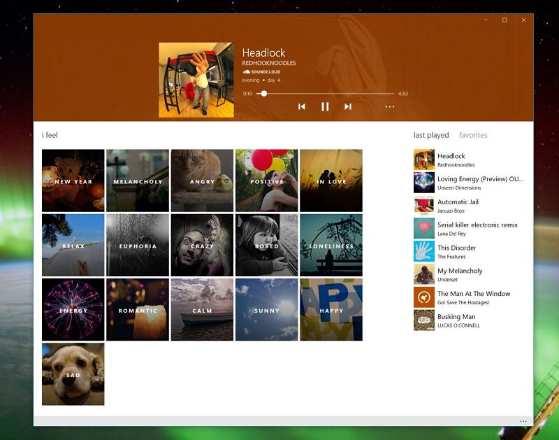 اپلیکیشن یونیورسال Moodflow موزیک را برای حس و حال شما پخش می کند!